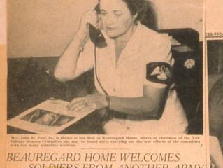 WWII and the Beauregard Center for Servicemen
