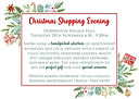 Durweston School Shopping Evening