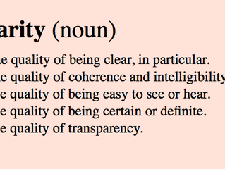 Clarity: a portal to change