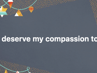 Self-compassion to heal the world