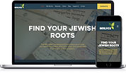 Website work portfolio sample Minnesota Jewish Geneological Society