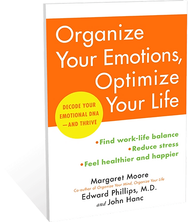Organize Your Mind:  Decode Your Emotional DNA and Thrive Book