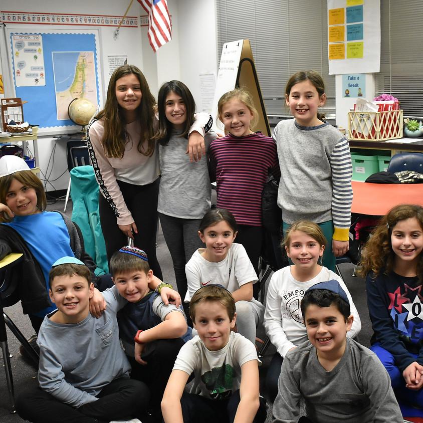 Dalet (4th-grade) Family Program: Attitude of Gratitude