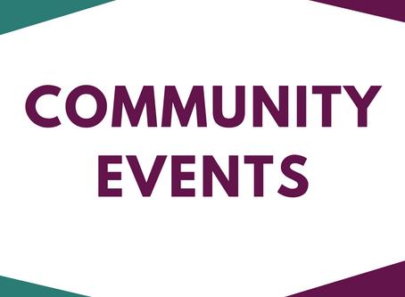 Community Events March & April 2020