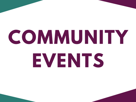 Community Events Feb & March