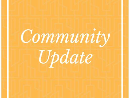Area Catholic Community Update