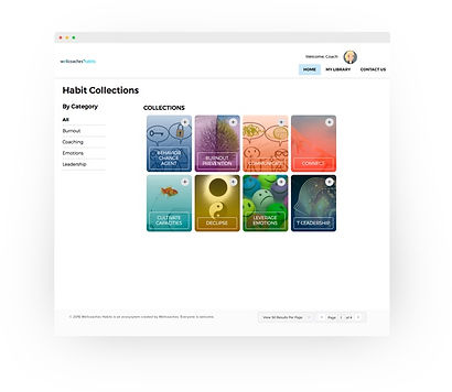 My Habits Library Screenshot