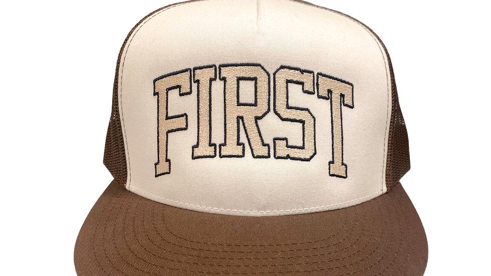 First Trucker Cap