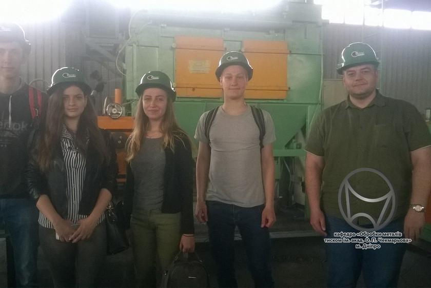 """Студентська олімпіада Drawing-2019 (Екскурсія на ТОВ """"ТАКТ"""", Дніпро)"""