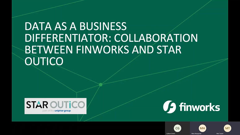 Star OUTiCO joined forces with Finworks at Big Data Analytics Virtual Confex -  2020 to present the business case for data as a business differentiator. Finworks provides enterprise-grade solutions to transform the way businesses benefit from Big Data.