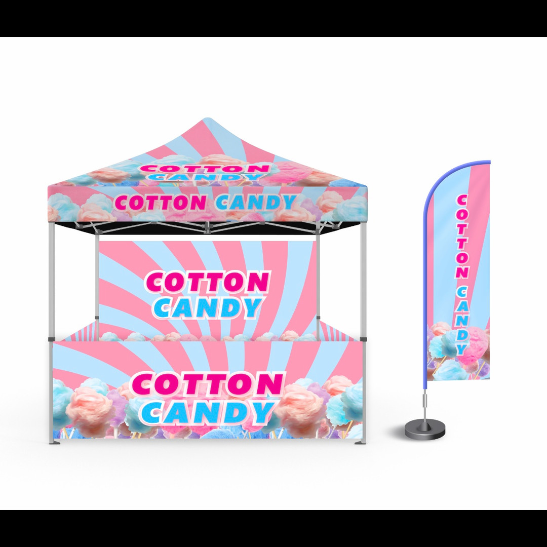 COTTON CANDY TENT