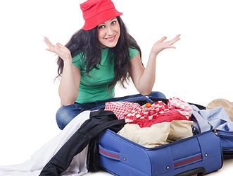 Al fin vacaciones pero...también llegó la hora de empacar