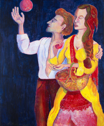 Couple with apples (2007)