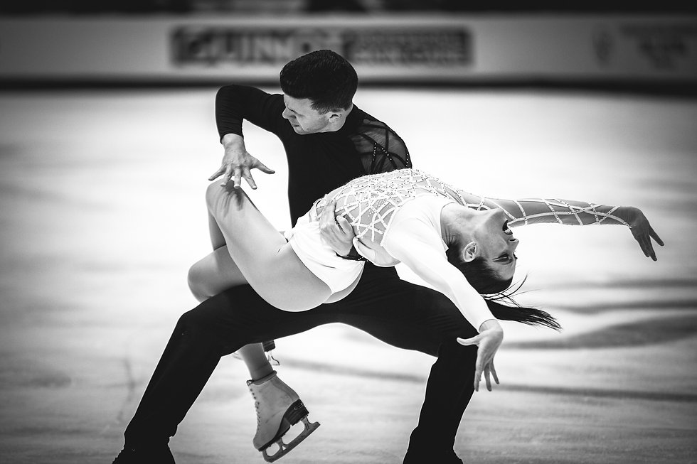 Carte Blanche Benoit Richaud olympic figure skaters dance ice performance