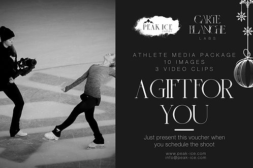 Athlete Media Pack by Carte Blanche Labs Gift Certificate