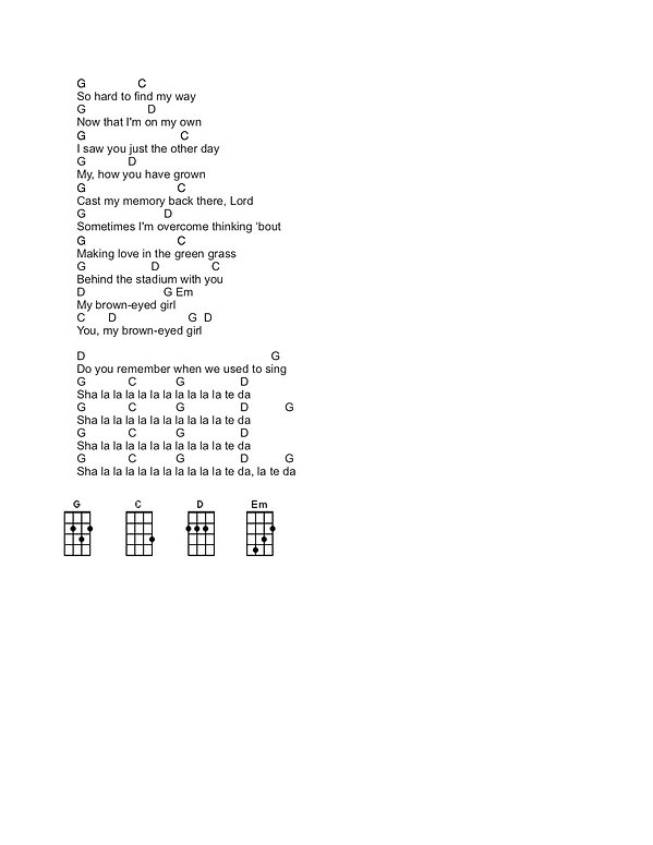 Brown Eyed Girl Chords jpg2.jpg