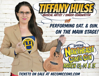 Northeast Comic Con Appearance March 2020!
