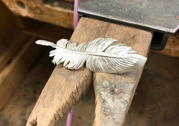 Chimera: cutting feathers