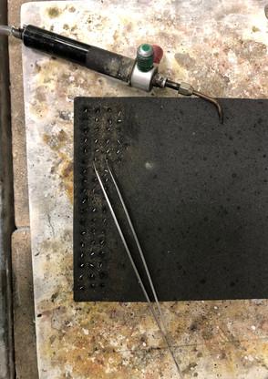 Chimera: granulation set-up