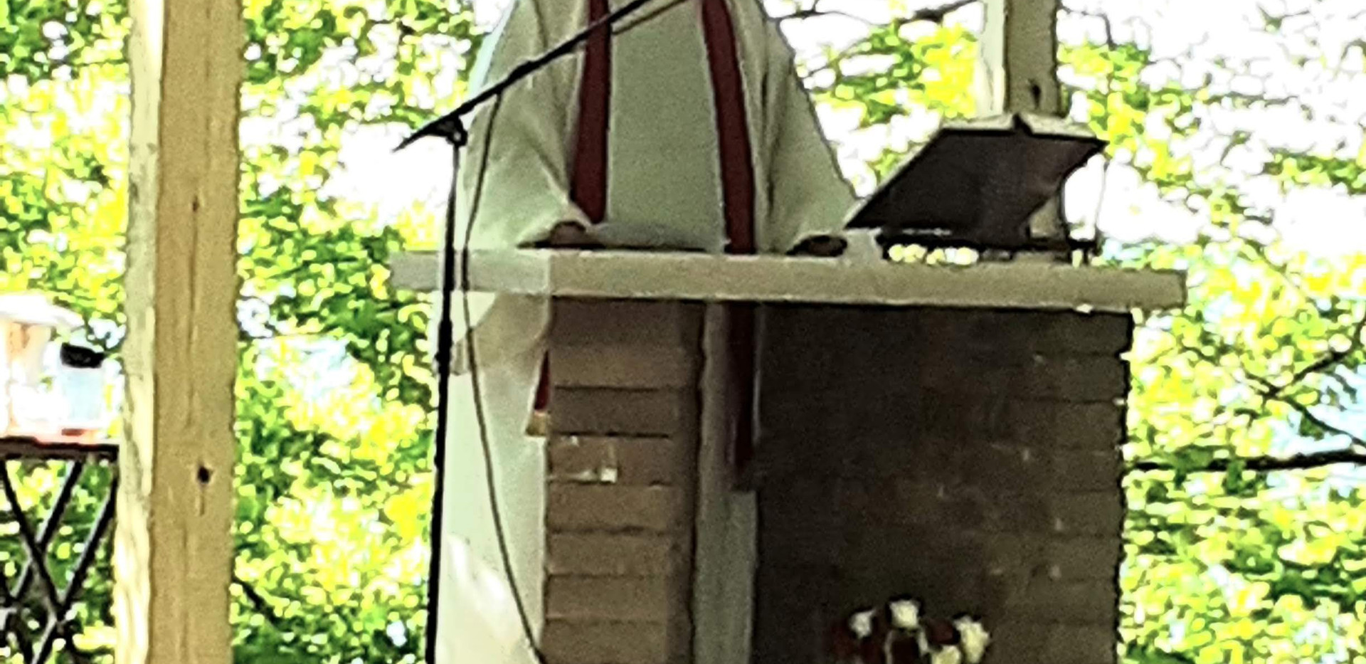 Thank you Fr. Richard for this Healing Mass.