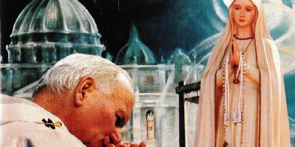 """""""Saint Pope John Paul II the Great"""" Retreat"""