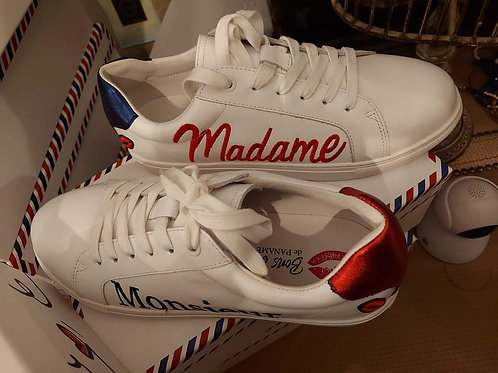 Sneakers Simone Madame Monsieur Bon baisers de paname 💋