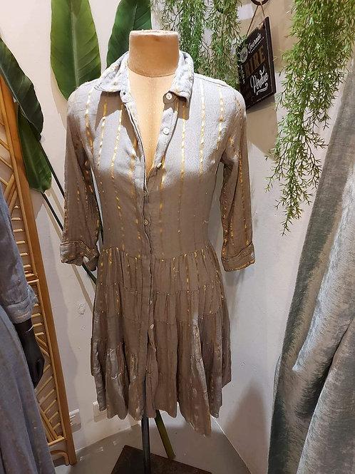 Robe mi-longue 100% coton