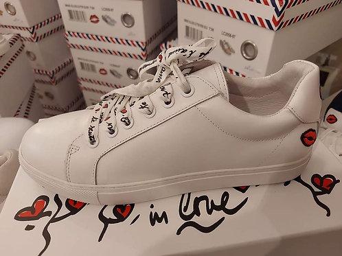 Sneakers Simone In Love Lacets Bon baisers de paname 💋