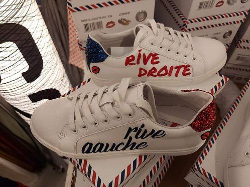 Sneakers Simone Rive Droite Rive Gauche Bon baisers de paname 💋