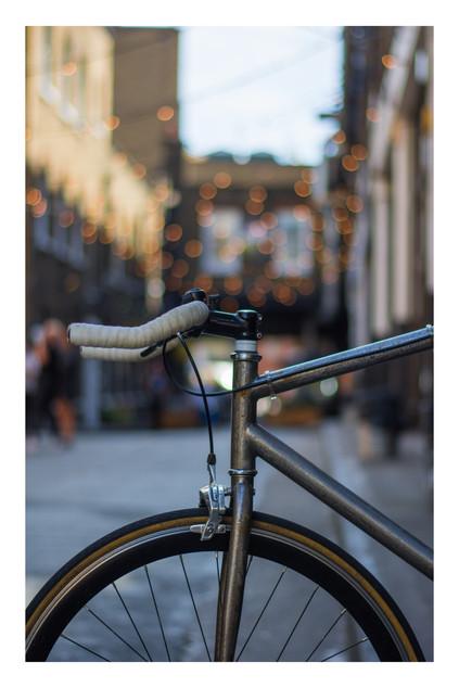 Bike & Bokeh | Brick Lane