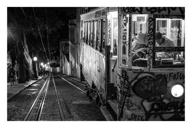 Night Tram | Lisbon