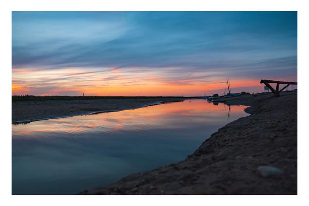 Norfolk Sunset 2 | Blakeney