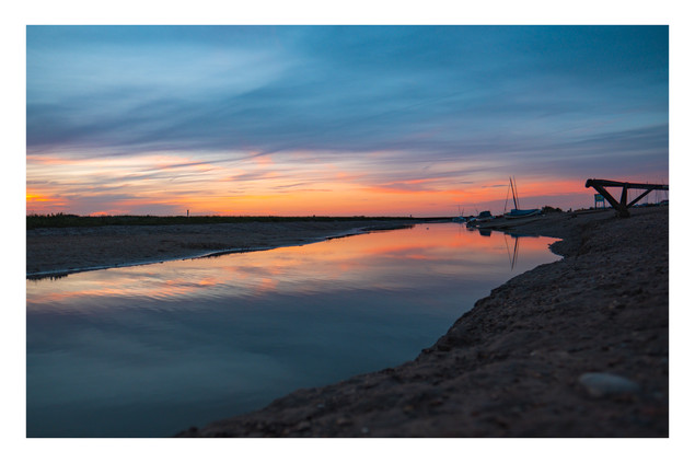 Norfolk Sunset 2 | Blakeney