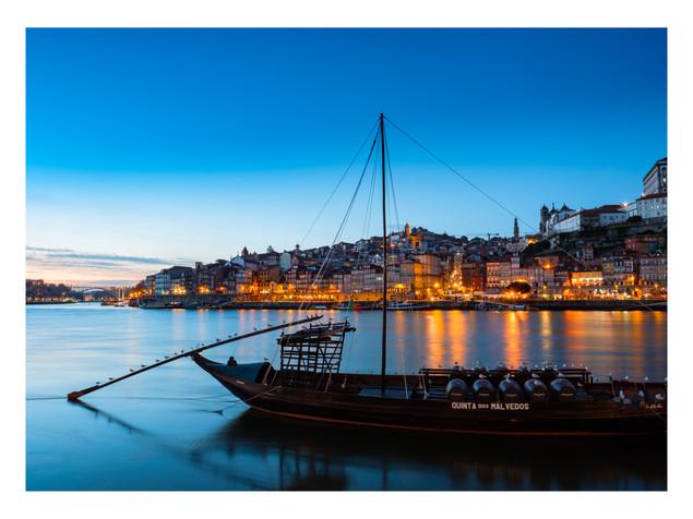 Douro At Night I | Porto