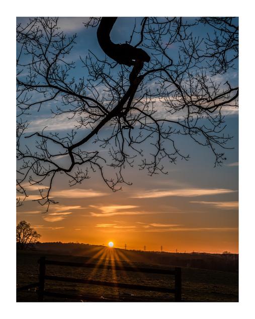 Sussex Sunset | Sheffield Park
