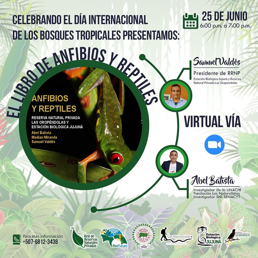 Presentación del Libro Anfibios y Reptiles de la R. Natural Las Oropéndolas y Estación Biológica Jujuná