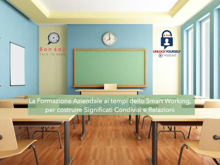 La Formazione ai tempi dello Smart Working