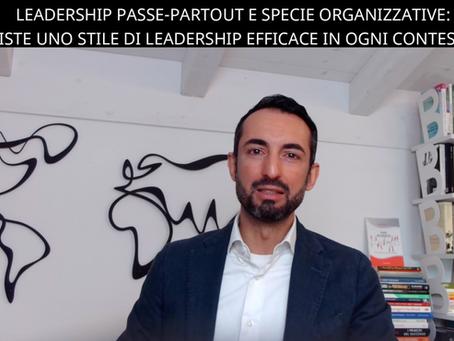 Leadership passe-partout e Specie Organizzative