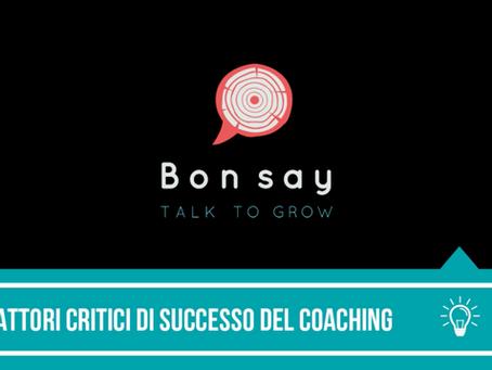 Fattori critici di successo del coaching