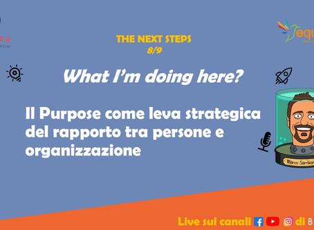 Il Purpose per avvicinare Persone e Organizzazioni