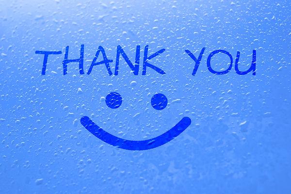 Thank You in steam on shower door.jpg