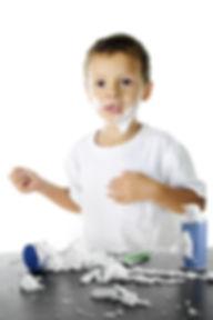 An adorable preschooler looking worried