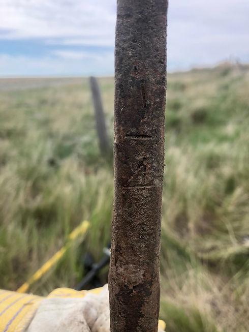 Saskatchewan Land Surveyor (IRON PIN)