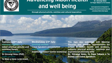 Advancing Maori health and well being