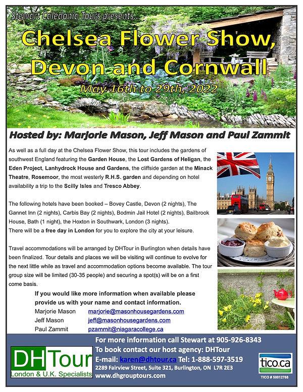 Stewart Caledonia Tours - CFS, Devon and