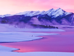 Morning sunrise Peak 1