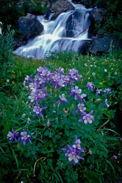 Columbine waterfall