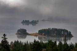 Lake Dillon mist.