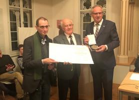 Joseph-Ben-Issachar-Süßkind-Oppenheimer-Medaille an Martin Ritter verliehen