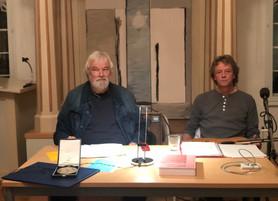 """9.11.2019 19.30Uhr: Lesung mit Musik: """"Hundsgeschrei"""" von Prof. Titus Simon"""